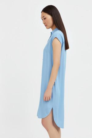 платье прямого кроя с отложным воротником Finn-Flare
